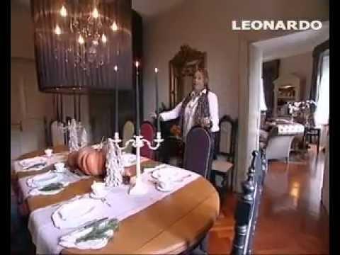 Natale: decorare la tavola in stile country chic - YouTube