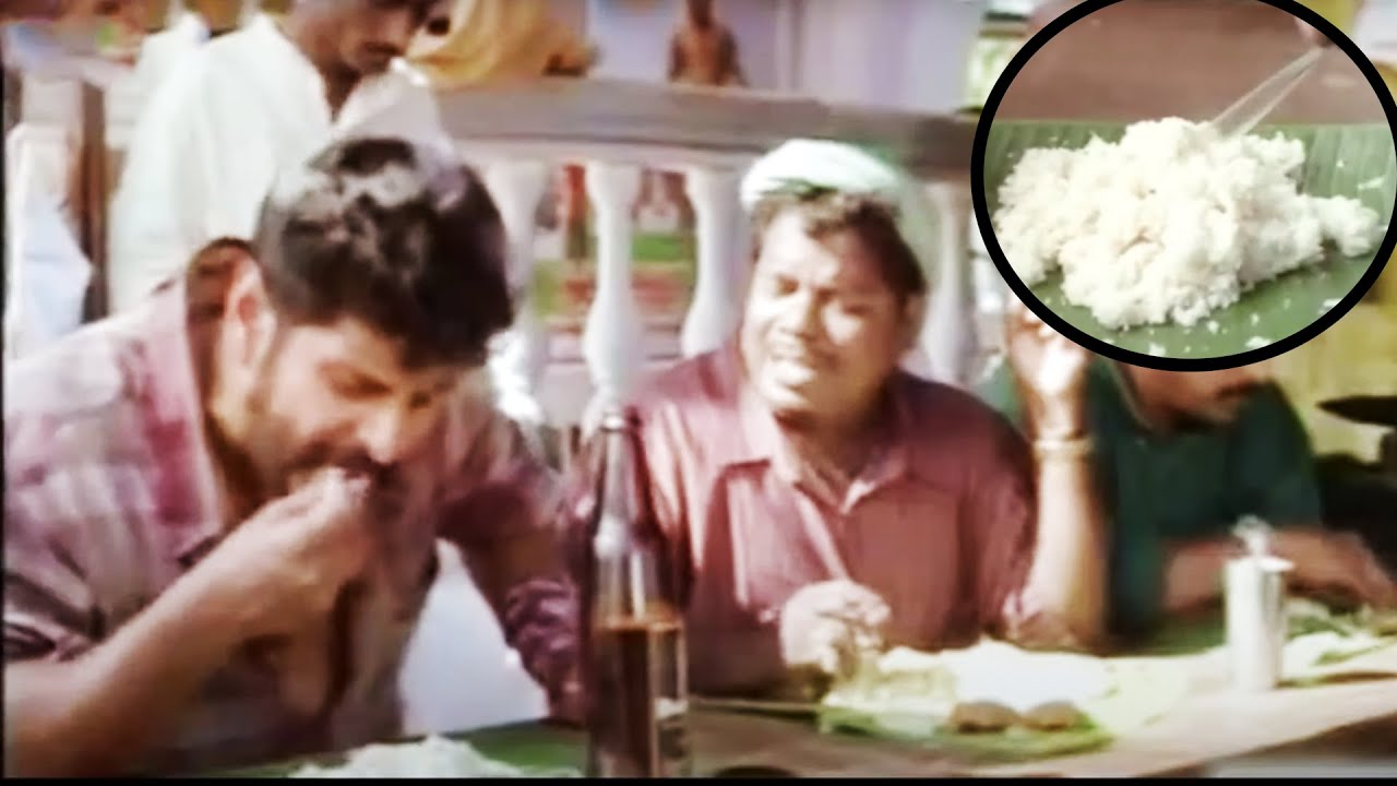 Vikram Eating Idly With Beer Scene | Telugu Movies | 70mm Movies