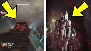 WHAT HAPPENS IF WE GLITCH TO GHAUL'S PLATFORM? (Destiny 2)