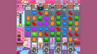 Candy Crush Saga -  Level 1447  -  no boosters