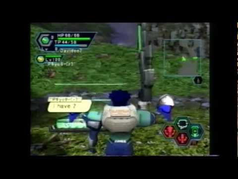 Phantasy Star Online - Dreamcast - Playing for the last time before servers got taken down