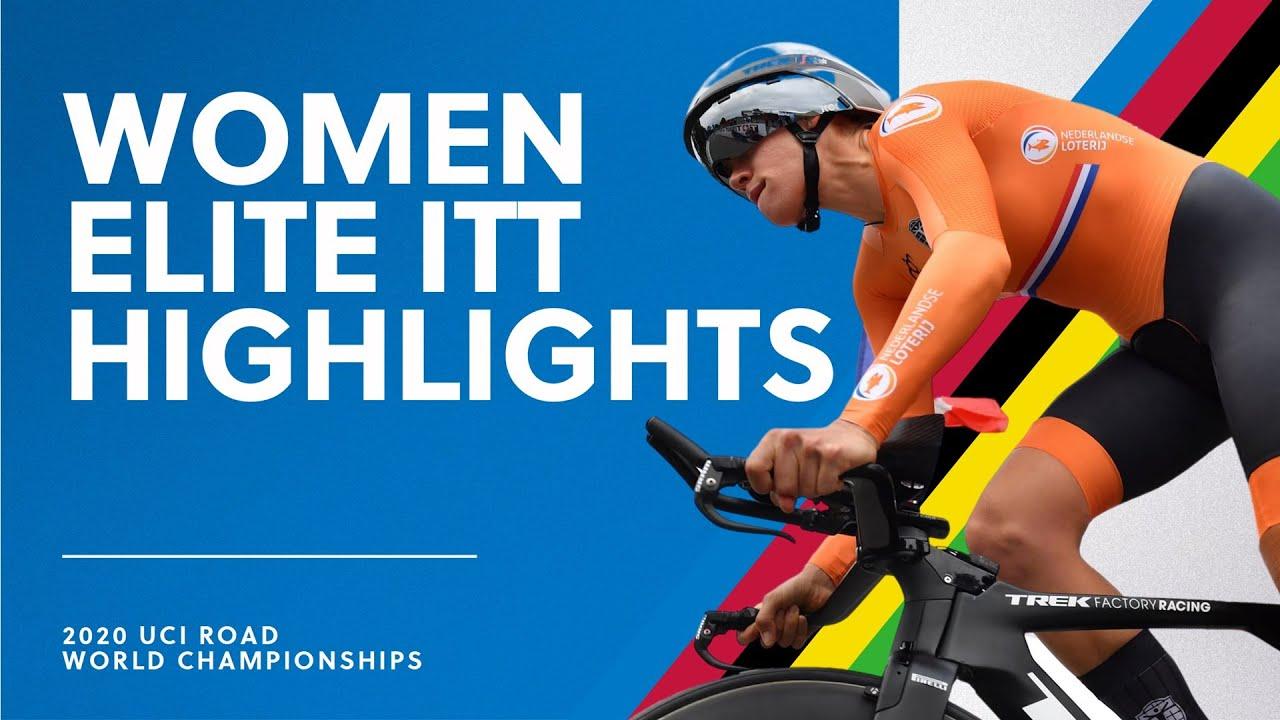 Women Elite ITT Highlights | 2020 UCI Road World Championships