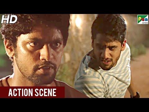 Naga Chaitanya Fight Scene | Rowdy Rajnikanth | New Hindi Dubbed Movie | Manjima Mohan, Baba Sehgal