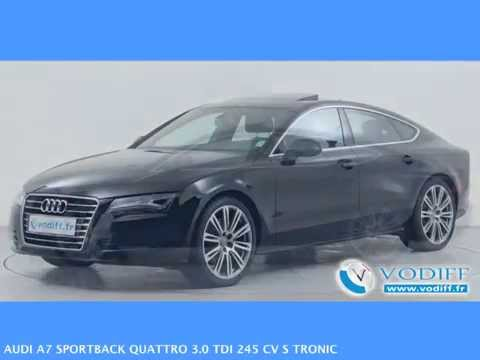 vodiff audi occasion alsace audi a7 sportback quattro 3 0 tdi 245 cv s tronic youtube. Black Bedroom Furniture Sets. Home Design Ideas