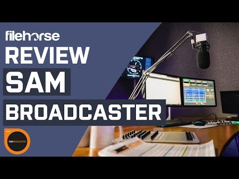 SAM Broadcaster PRO - Start Your Internet Radio for Windows PC!