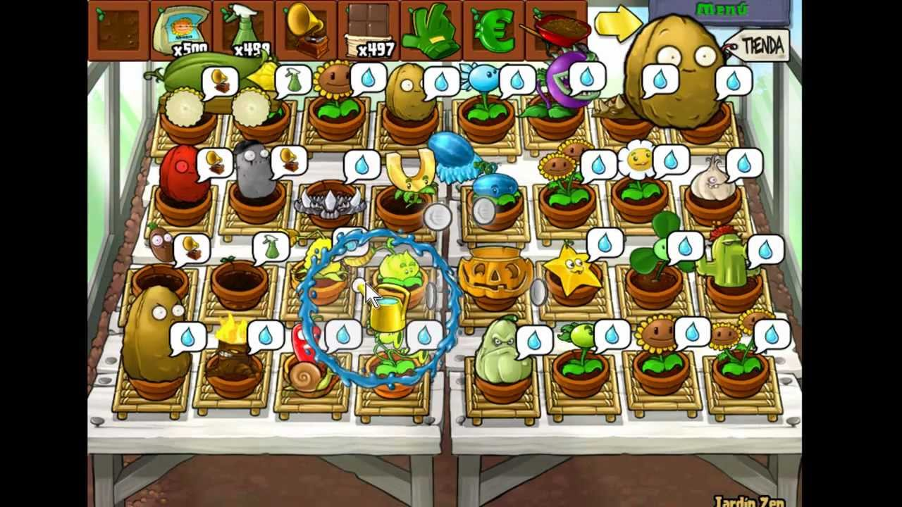 plantas vs zombies mi jardin zen veanlo youtube