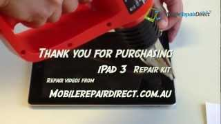 Apple iPad 3 Screen and Retina Replacement New iPad | MobileRepairDirect Sydney(http://www.mobilerepairdirect.com.au Apple iPad 3``New iPad´´ Screen and Retina LCD Replacement Specializing in iPhone Repair and Samsung Galaxy ..., 2013-02-03T20:27:42.000Z)