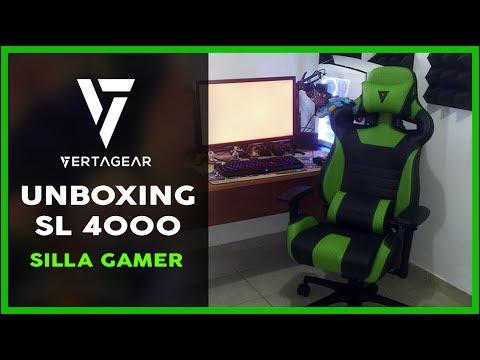 Unboxing de silla Gamer   Vertagear SL4000