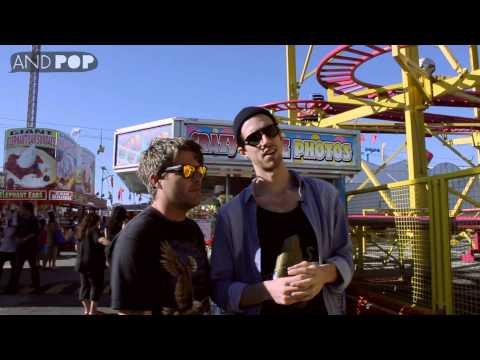 3OH!3 interview: trick shots at the carnival