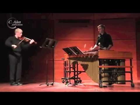 Legal Highs (duet for violin & marimba) by David P. Jones