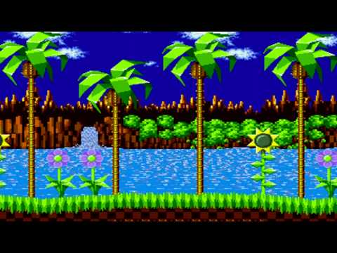 Sonic 1 Green Hill Zone Sonic 3 Knuckles Remix Youtube