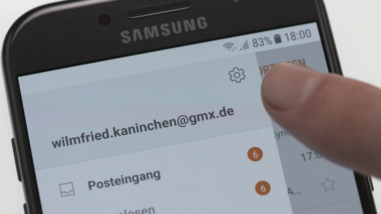 samsung s5 email anhang