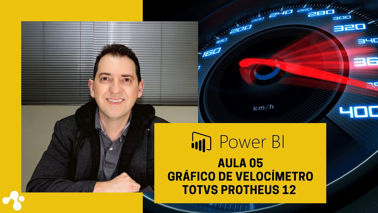 Power BI e Gráfico de Velocímetro - Totvs Protheus 12.