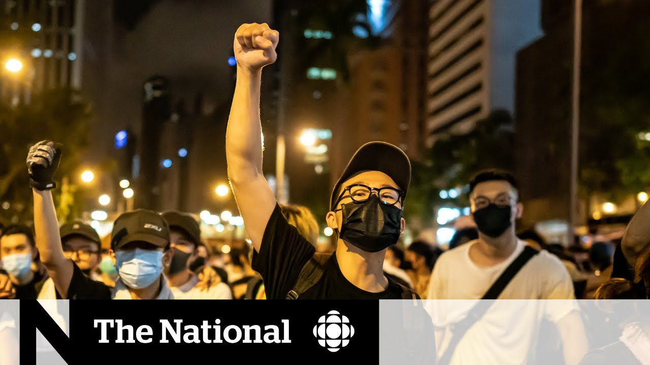 Hong Kong protests over extradition bill turn violent
