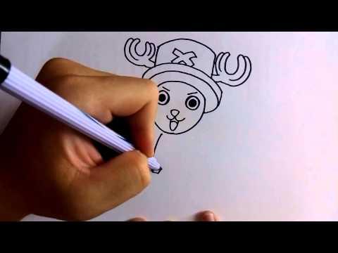 สอนวาดการ์ตูน ช็อปเปอร์ ง่ายๆ หัดวาดตามได้