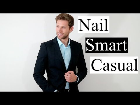 1fb4c7a542 Ways To Wear Smart Casual Attire - YouTube