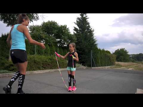 Jump Rope Young Generation - Skipping Girl