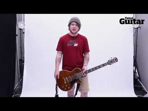 Me And My Guitar interview with Bring Me The Horizon's Lee Malia w / Epiphone Les Paul Artisan