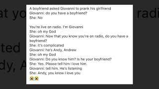 Prank: Is your girlfriend your girlfriend??