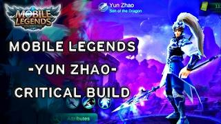 Mobile Legends Yun Zhao Critical Build | Tips & Tricks