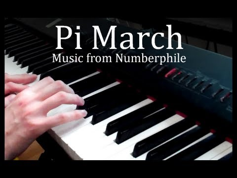 Pi March - music from Numberphile