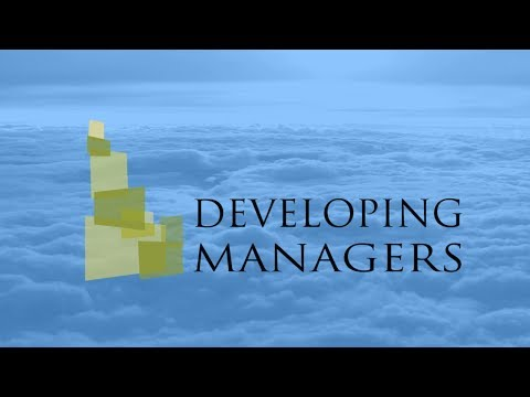 Developing Managers - Teaching Managers the Essentials of People Management