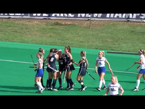 UNH FH vs UMass Lowell Highlights 10 22 17