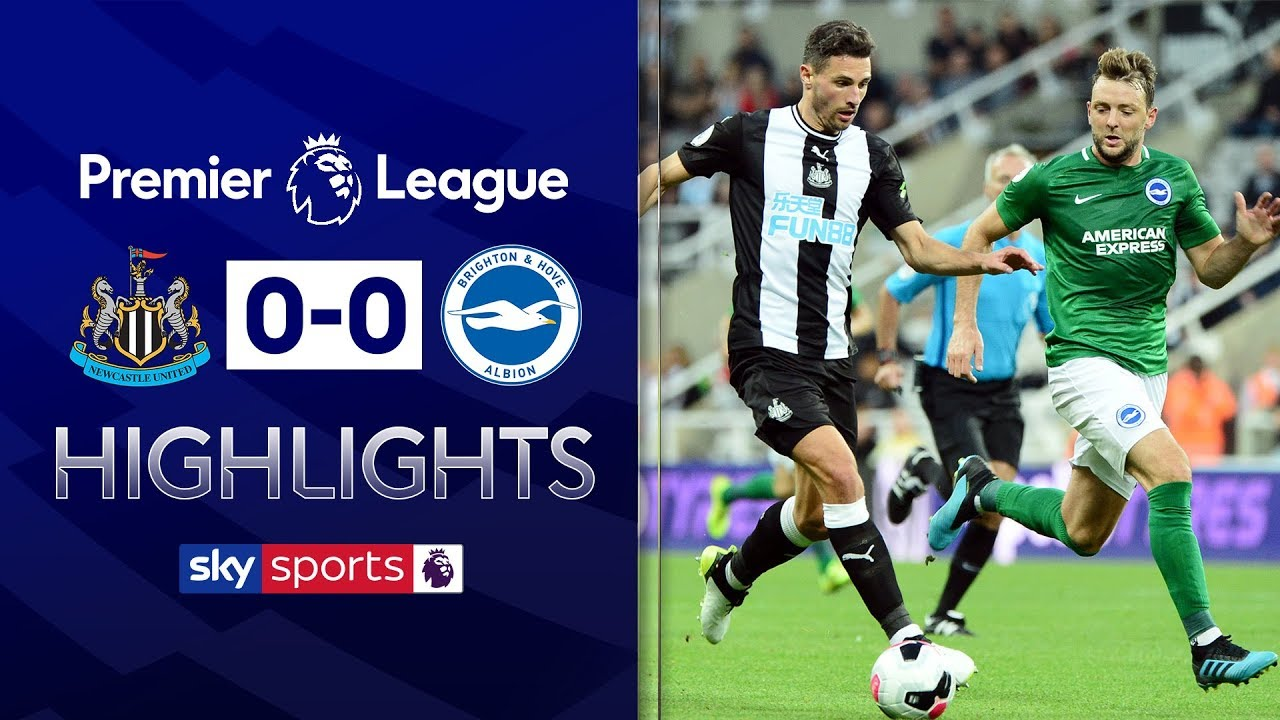 Fabian Schar's tremendous goal-line clearance denies Brighton | Newcastle 0-0 Brighton | Highlights