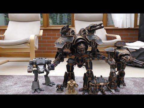 WARLORD TITAN - Review & Size Comparison (WH40K)