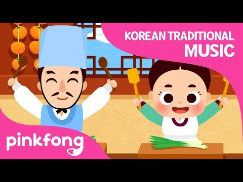 The King's Chefs | Korean Traditional Music | Pinkfong Songs for Children