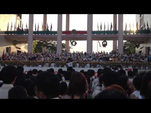Presentation of the UP College of Science Graduates
