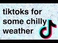 tiktoks for some chilly weather