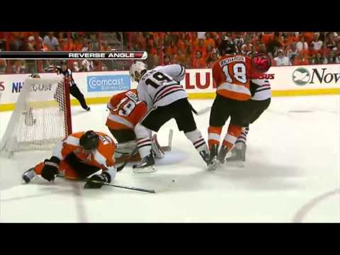 Flyers vs Blackhawks 2010 Stanley Cup Highlights