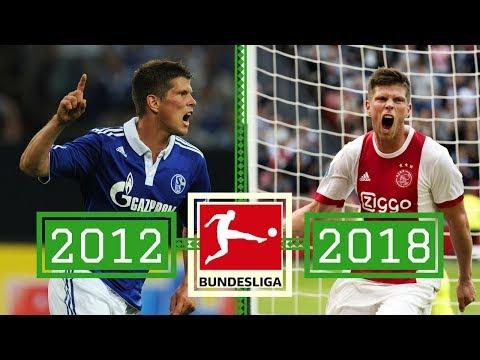 Last 7 bundesliga top scorers: where are they now?
