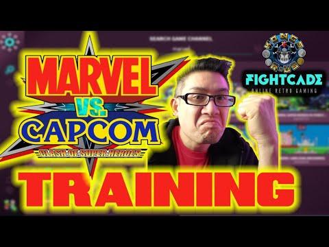 Marvel vs Capcom Training For Arcade1Up (FightCade 2) from Kongs-R-Us