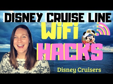 WiFi HACKS On The DISNEY CRUISE Line Ships
