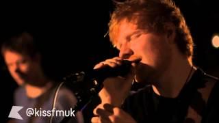 Ed Sheeran - Drunk In Love & Brown Sugar (Mashup) | KISS Live Session