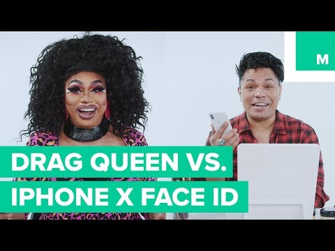 Can this drag queen trick the iPhone X's Face ID?
