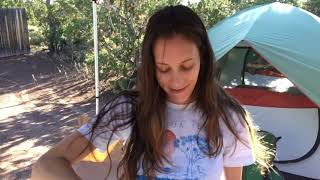 Camping in Santa Fe, Nęw Mexico | Exploring Bandelier National Monument