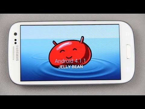 How To Install OFFICIAL Android 4.1.1 Jelly Bean On The Samsung Galaxy S III!