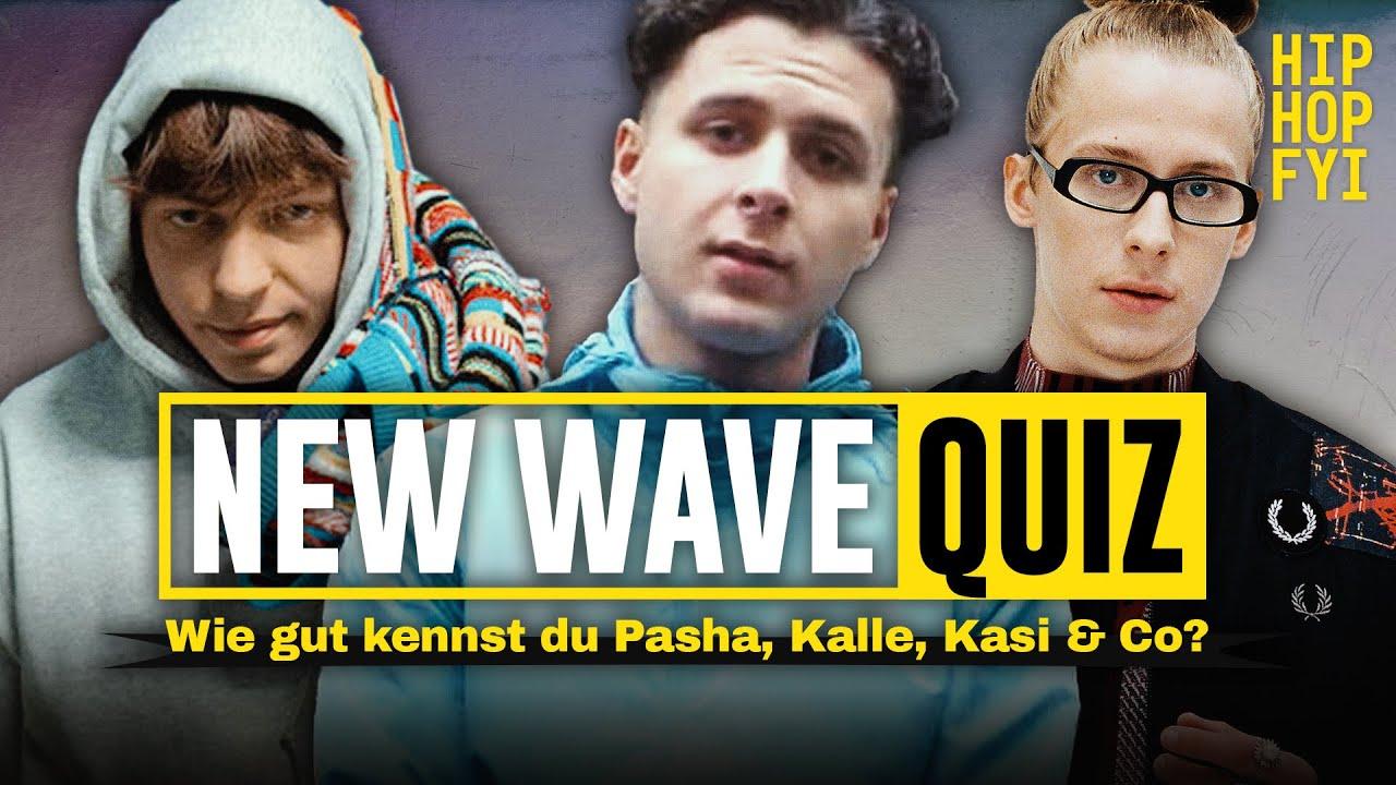 DAS ERRÄTST DU NIE! Das New Wave Quiz - Was weißt du über Pashanim, Kasimir1441, Yin Kalle & Co?