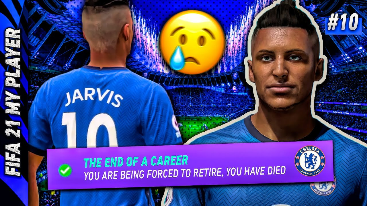 the end of a legend. 💔 FIFA 21 MyPlayer #10 (w/GTA RP)