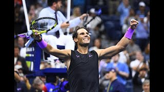 Rafael Nadal vs Matteo Berrettini | US Open 2019 Semi-Final Highlights
