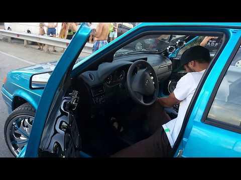 видео: ВАЗ 2114 на r 20 ! ! ! колёсах зажёг прям на посту ДПС