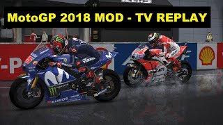 MotoGP 2018 Mod | GP MALAYSIA | Jorge Lorenzo | TV REPLAY GAME |