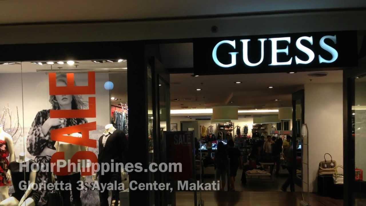 Guess Glorietta 3 Ayala Center Makati Philippines by ...