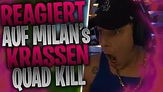 MONTE reagiert auf MILAN's krassen Quad Kill | ISSA ärgert einen Jerome | Fortnite Highlights