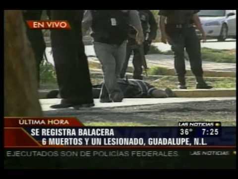 Balacera En Nuevo Leon 14 Julio 2009 TELEVISA MONT...