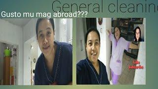 Paano Kami Mag General Cleaning  Tara Samahan Mu Ako Buhay Abroadshei Padrigano