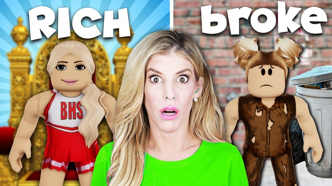 Download RICH VS BROKE GIRL in Brookhaven! (Rebecca Zamolo Roblox RP)